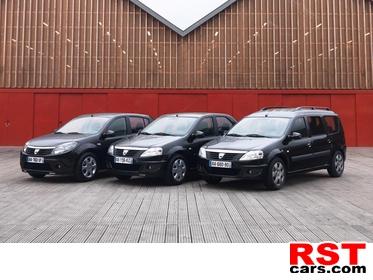 фото Dacia решила выкрасить свои автомобили в черный цвет