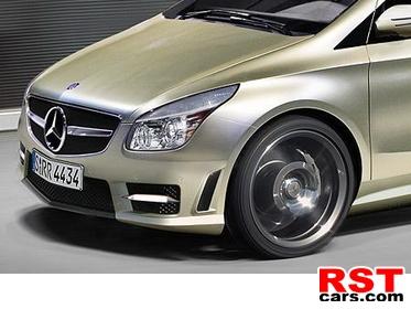 фото «Мерседес» подтвердил разработку купе и кроссовера на базе B-Class
