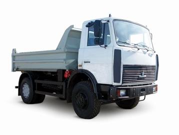 Самосвал МАЗ 5551.