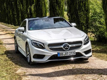 новая MERCEDES  Coupe